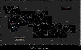 Map Of Constellations Zodiac Constellations Constellation Guide
