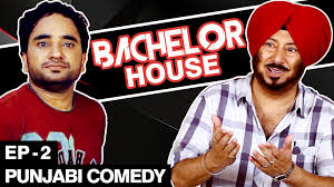 comedy film video clip punjabi comedy movie bachelor house part 2 jaswinder bhalla new
