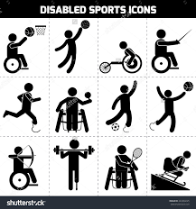 Plan Icon Stock Photos Images Amp Pictures Shutterstock Stock Vector Disabled Sports Black Pictogram Invalid People Icons