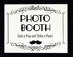 photo booth sign hot photo booths
