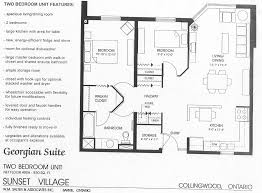 How Big Is 850 Square Feet by Sunset Village Long Term Care