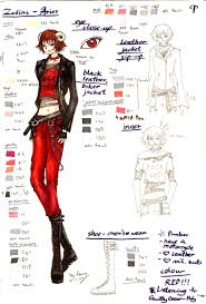zodiac character design 004 aries by space on deviantart