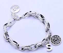 sterling charm bracelet chain images Online shop 925 sterling silver men charm bracelet hand chain 8 jpg