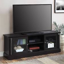 Tv Storage Cabinet Tv Stand Entertainment Center 70 Media Furniture Console Wood
