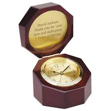 personalized anniversary clock personalized corporate anniversary gifts