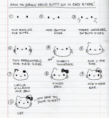 140 sanrio images sanrio kitty drawings