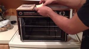 Turbo Toaster Oven Farberware Convection Turbo Oven Model 460 Review Manual 46 Youtube