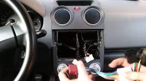 sony g1100u car radio wiring youtube