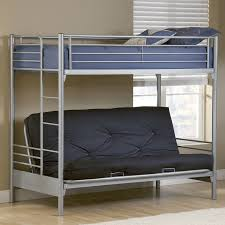 shop hillsdale furniture universal silver twin over futon bunk bed