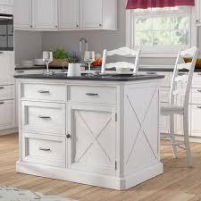 kitchen island laurel foundry modern farmhouse ryles 3 piece kitchen island set