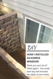 lofty design ideas diy basement window replacement how to install