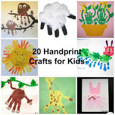 20 handprint craft ideas for kids kiddy crafty
