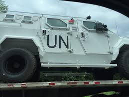 armored military vehicles photos un military vehicles seen rolling down virginia interstate