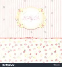 beautiful flowerpatterned background shabby chic wedding stock