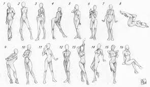basic body sketch and poses u2013 arts92