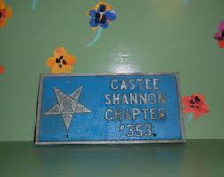 Masonic Home Decor Masonic Mid Century Etsy