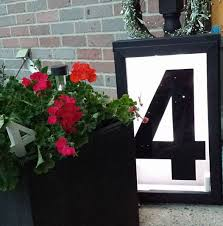 house number light box large house number light box awesome idea so cozy zyphyrco