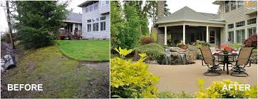 before and after backyard ideas on a budget backyard fence ideas