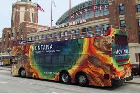 Montana bus travel images Ad campaign goes viral upping expectations for tourist season jpg