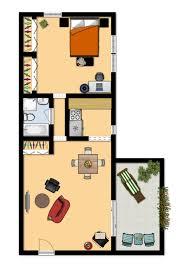 650 square feet floor plan