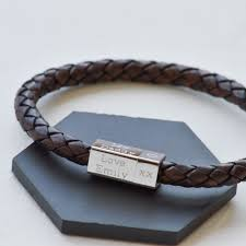 s day bracelet marvelous idea leather engraved bracelets splendid ideas