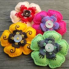 Making Of Flowers With Paper - best 25 felt flowers ideas on pinterest felt roses felt crafts
