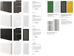 kitchen cabinet doors styles a close look at ikea sektion cabinet doors