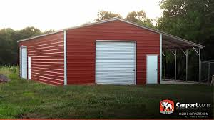 metal building for one car 24 u0027 x 36 u0027 x 10 u0027 shop garages online
