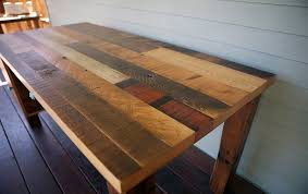 making a wood table top reclaimed wood desk top interiors and decor
