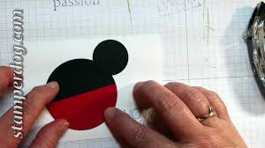 How To Make Minnie Mouse Invitation Cards Making A Mouse Card In Minutes Youtube