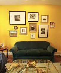 home design with yellow walls using green yellow and red in interior design then as we enter the
