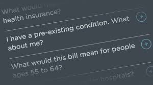 Faq Ahca Senate Republican Health Care Bill Your Questions Answered