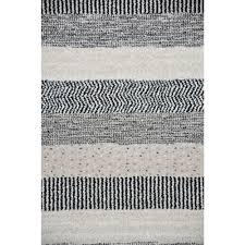 Black And White Modern Rug by Trendy Contemporary Rugs Emphasis Taupe Grey Black White Free