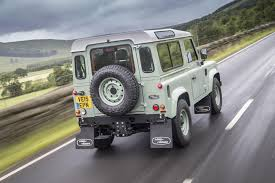 land rover defender 90 convertible land rover defender by car magazine