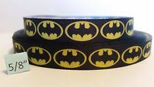 black and yellow ribbon batman ribbon ebay