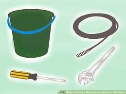 How To Snake Bathtub 4 Ways To Unclog A Slow Running Bathroom Sink Drain Wikihow