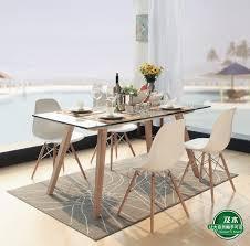 Dining Table Scandinavian And Wood Furniture Modern Minimalist Scandinavian Wood Rectangular