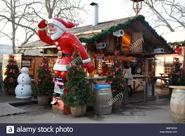santa claus in winter in hyde park stock photo royalty