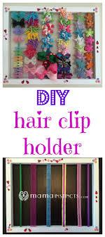 hair clip holder diy hair clip holder instincts