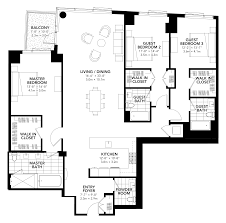 100 three bedroom two bath floor plans three bedroom house