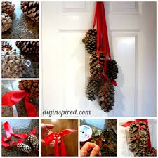 backyards sugar pine cone decorations