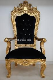 Throne Style Chair A Emperor Rose Large Ornate Throne Chair Hampshire Barn Interiors