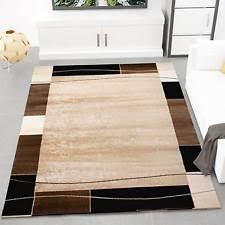 teppich für wohnzimmer moderne wohnraum teppiche ebay