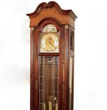 Howard Miller Clock Value Howard Miller Grandfather Clock With Moon Calendar Ebth