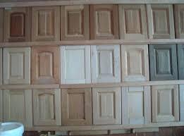 Solid Oak Cabinet Doors Unfinished Solid Wood Kitchen Cabinets Image For Sle