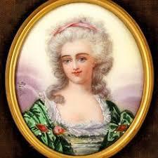 Gilt Bonze Enameled Portrait A Late 16th Century Enamel On Copper Portrait Of A Noblewoman