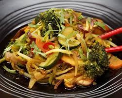 cuisiner au wok recette wok de légumes épicés et sauce soja