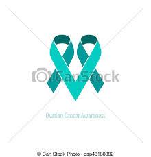 teal ribbons teal ribbons ovarian cancer awareness support heart emblem