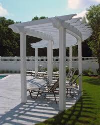 comfortable and cozy pool pergola with decent furniture pergola