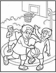 football printable coloring pages free printable coloring sheet of basketball sport for kids